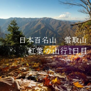 素晴らしい紅葉の雲取山。2017年に2017mに登り最高の思い出に残った山【三峯神社〜雲取山荘】